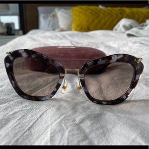 Miu Miu Cat Eye Sunglasses MU10NS